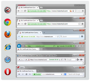 Browser SSL Icons